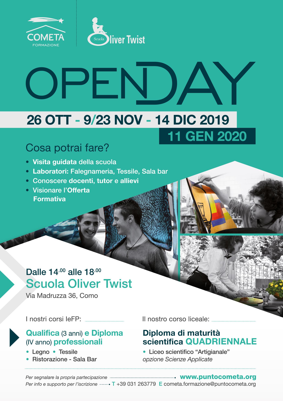 OPEN DAY SCUOLA OLIVER TWIST 2019 1