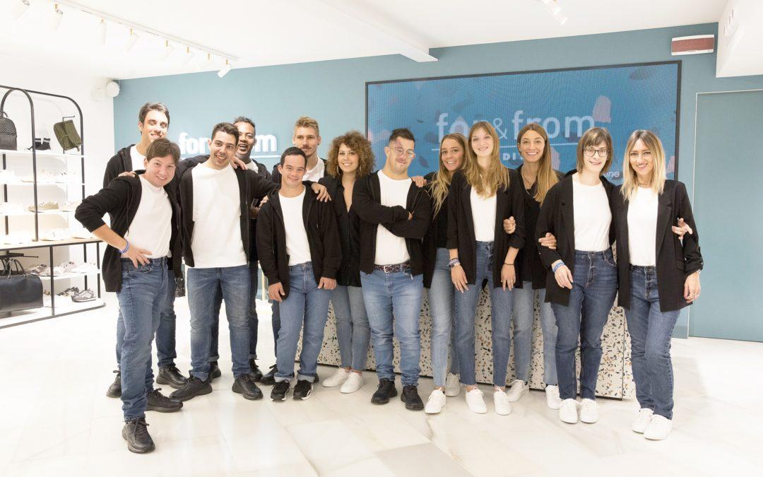 Apertura negozio progetto 'for&from' di #Inditex con Cometa