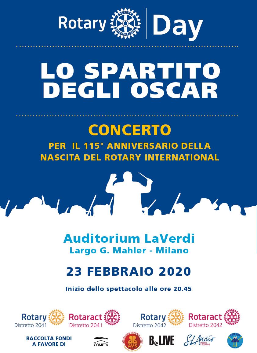 Lo Spartito degli Oscar - Concerto a favore di Cometa 1