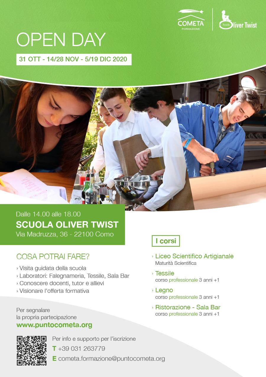OPEN DAY SCUOLA OLIVER TWIST 2020 1