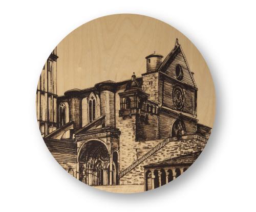 Sottopiatto Assisi 1