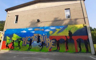 """Un dipinto murale di quartiere per """"RICOSTRUIRE"""" legami dopo la pandemia"""